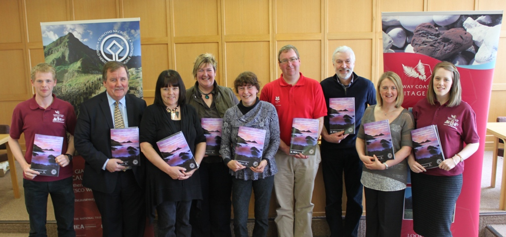 Members of the Giant's Causeway and Causeway Coast World Heritage Site Steering Group